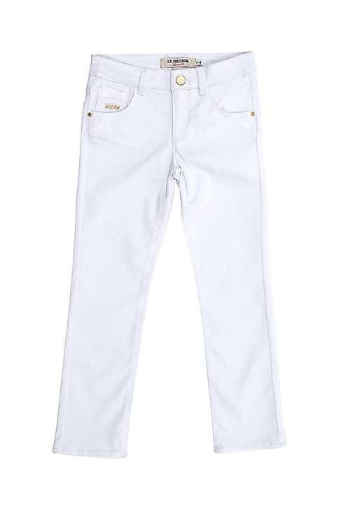 U.S.Polo Assn. Jean Pantolon Beyaz